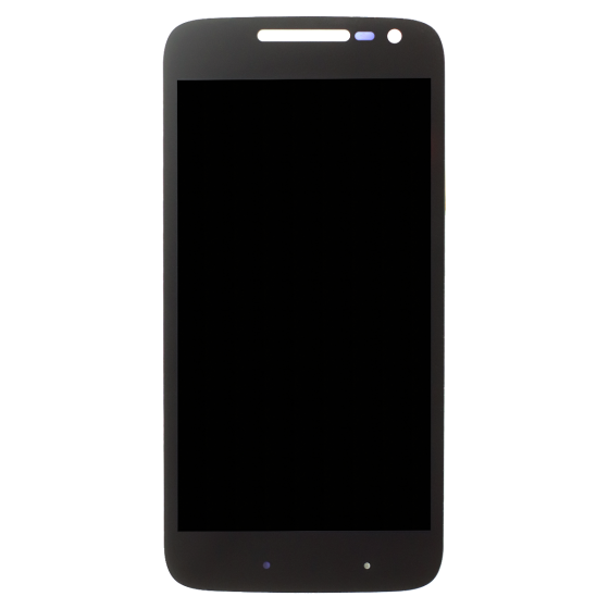 LCD/Digitizer with frame for use with Motorola Moto G4 Play - Black