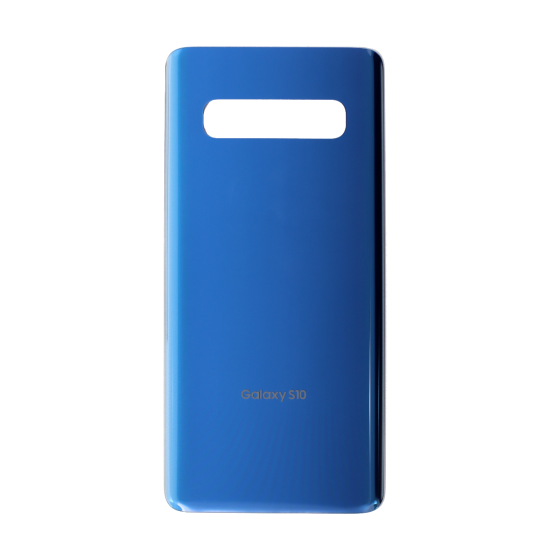 Back Glass Cover for use with Samsung Galaxy S10 (Prism Blue)