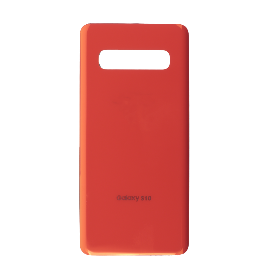 Back Glass Cover for use with Samsung Galaxy S10 (Flamingo Pink)