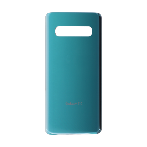 Back Glass Cover for use with Samsung Galaxy S10 (Prism Green)