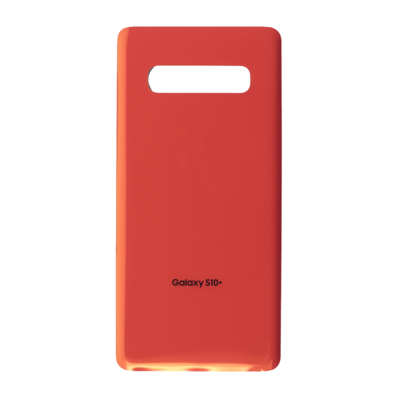 Back Glass Cover for use with Samsung Galaxy S10 Plus (Flamingo Pink)