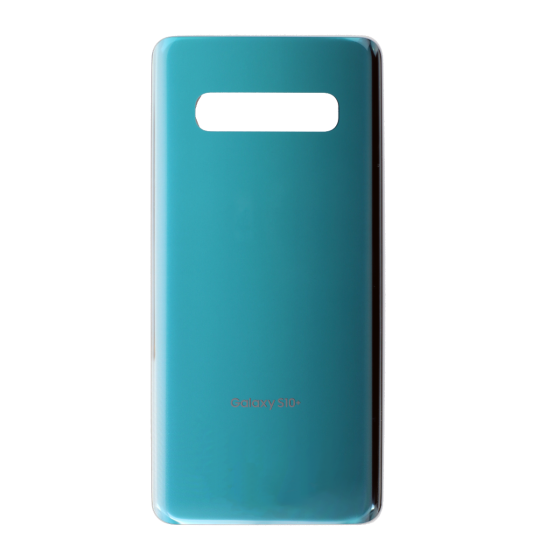 Back Glass Cover for use with Samsung Galaxy S10 Plus (Prism Green)