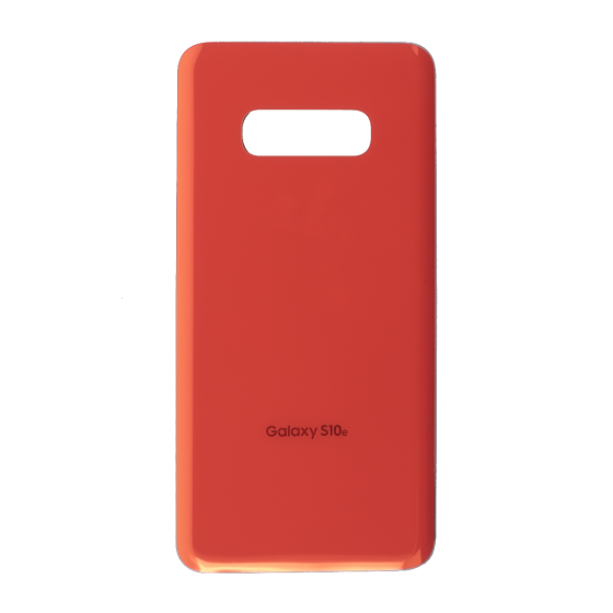Back Glass Cover for use with Samsung Galaxy S10e (Flamingo Pink)