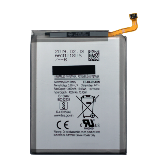 Battery for use with Galaxy A20