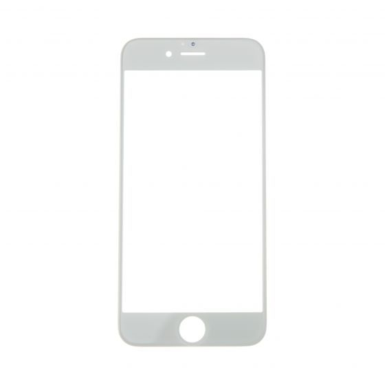 Glass ONLY for use with iPhone 6S (4.7), White