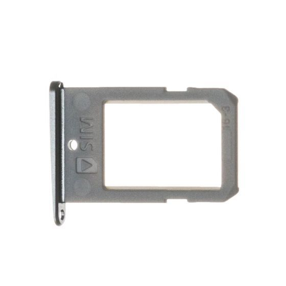 SIM Tray for use with the Samsung Galaxy S6 Edge, Gray