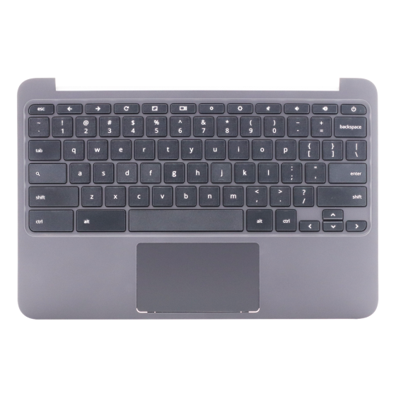 Keyboard/Palmrest/Touchpad for use with HP 11 G4 EE Chromebook, Part Number: 851145-001