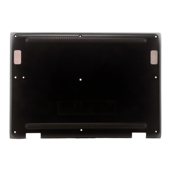 Bottom cover for use with Lenovo 11 300e Gen 2 (81QC) Chromebook, Part Number: 5CB0T95166
