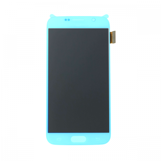 OLED Digitizer Assembly for use with Samsung Galaxy S6 (Without Frame)(Blue Topaz)