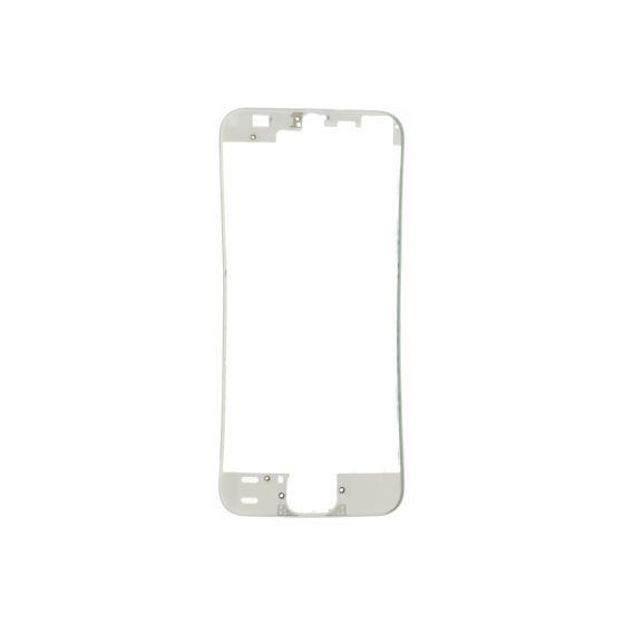 Front Frame for use with iPhone 5S, White