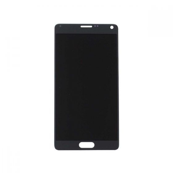 LCD & Digitizer Assembly for use with Samsung Galaxy Note 4 SM-N910, Charcoal Black, (No Logo)