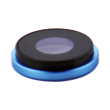 Rear Camera Lens for use with iPhone XR (Blue)