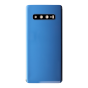 Back Glass Cover with Camera Lens for use with Samsung S10 Plus (Prism Blue)