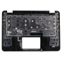 Palmrest for use with Dell 3400 Chromebook, Part Number: 5C1T5