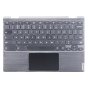 Keyboard/Palmrest/Touchpad for use with Lenovo 11 300e Gen 2 (81QC) Chromebook, Part Number: 5CB0T95165