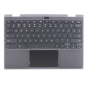 Keyboard/Palmrest/Touchpad for use with Lenovo 500E Chromebook, Part Number: 5CB0Q79737