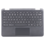 Keyboard/Palmrest/Touchpad for use with Dell 3180 Chromebook, Part Number: 0VK0YC