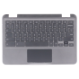 Keyboard/Palmrest/Touchpad for use with Dell3100 2 in 1 Chromebook, Part Number: 09X8D7