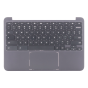 Keyboard/Palmrest/Touchpad for use with HP 11 G5 EE Chromebook, Part Number: 917442-001
