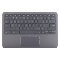 Keyboard/Palmrest/Touchpad for use with HP11 G6 EEChromebook, Part Number: L14921-001
