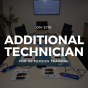 Additional Technician for In person training