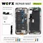 Magnetic Screwmat - iPhone X