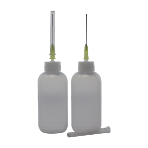 Alcohol Squeeze Bottle with Needle (2 Pack)