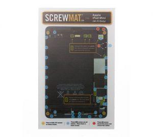 ScrewMat for use with iPad Mini Wifi