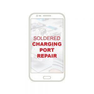 Soldered charging port repair