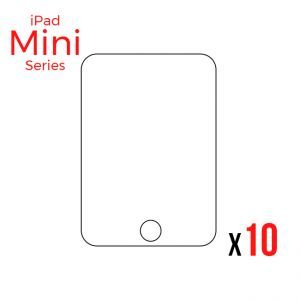 Bulk Tempered Glass Screen Protector for use with iPad Mini 1/2/3 (Pack of 10)