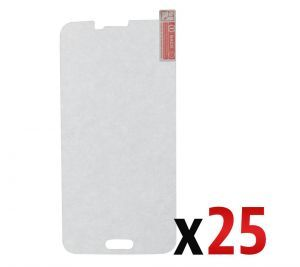 Bulk Tempered Glass Screen Protector for use with Samsung Galaxy S5 (Pack of 25)