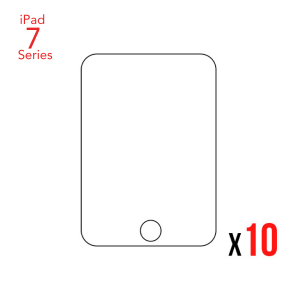 Bulk 10-Pack Tempered Glass for the iPad 7
