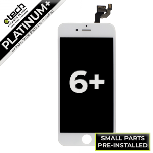 Platinum Plus LCD Assembly for use with iPhone 6 Plus (White)