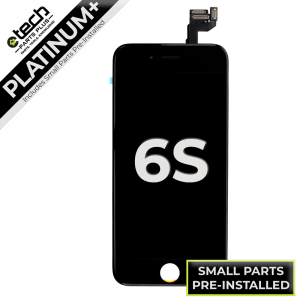 Platinum Plus LCD Assembly for use with iPhone 6S (Black)