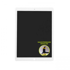 Platinum LCD/ Digitizer (Full Assembly) With Daughterboard Installed for use with iPad Pro 12.9 Gen 1 (White)