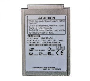 20gb Hard Drive for use with iPod 4th Gen and Photo, new