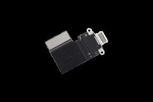 "Charging Port for use with iPad Pro 12.9 Gen 3 / Gen 4, Pro 11"" Gen 1 /Gen 2 (White)"