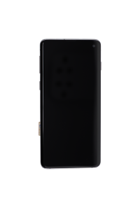 OLED Digitizer Assembly for use with Samsung Galaxy S10 (With Frame) (Prism Black)