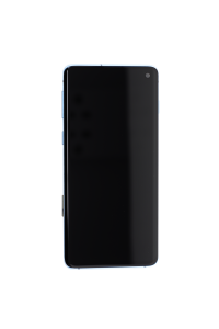 OLED Digitizer Assembly for use with Samsung Galaxy S10 (With Frame) (Prism Blue)