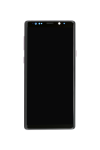 LCD Assembly with frame for use with Galaxy Note 9 (Purple)