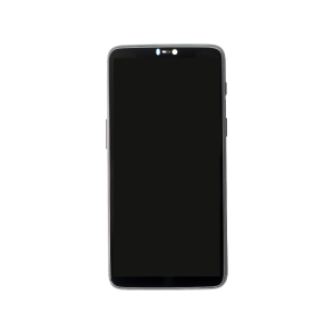 LCD Assembly for use with OnePlus 6 (With Frame)