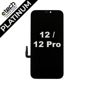 Platinum OLED Assembly for use with iPhone 12 / iPhone 12 Pro