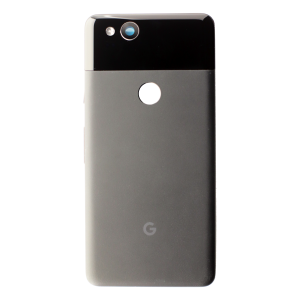 Back Glass for use with Google Pixel 2 (Black)