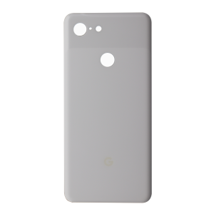 Back Glass for use with Google Pixel 3 (White)