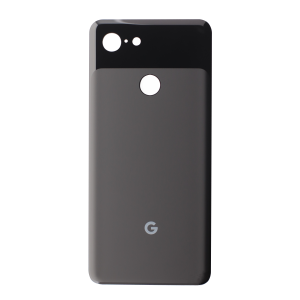 Back Glass for use with Google Pixel 3 (Black)