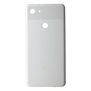 Back Glass for use with Google Pixel 3 XL (White)