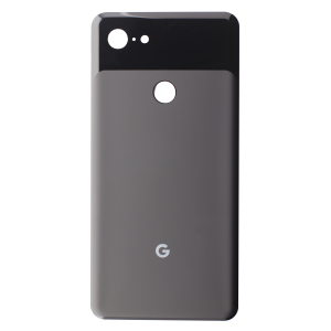 Back Glass for use with Google Pixel 3 XL (Black)