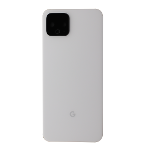 Back Glass for use with Google Pixel 4 (White)