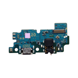 Charging Port with PCB board for use with Samsung Galaxy A20 (2019/A205U) (for America Version)