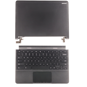 Keyboard/Touchpad/Palmrest and LCD Cover Combo for use with Chromebook D3120, Part Number: RHFXP/0R36YR